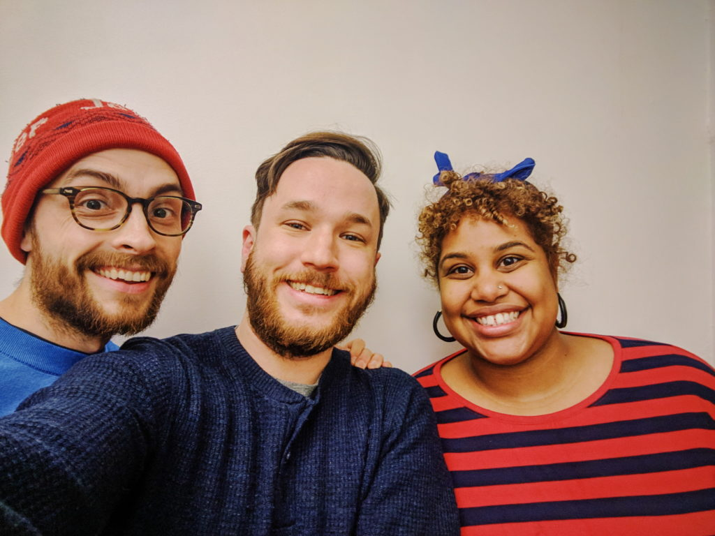 Repeater Hosts Pat and Evan with guest Milly Tamarez